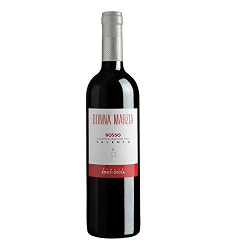 Donna marzia rosso cl75 conti zecca vino rosso (08