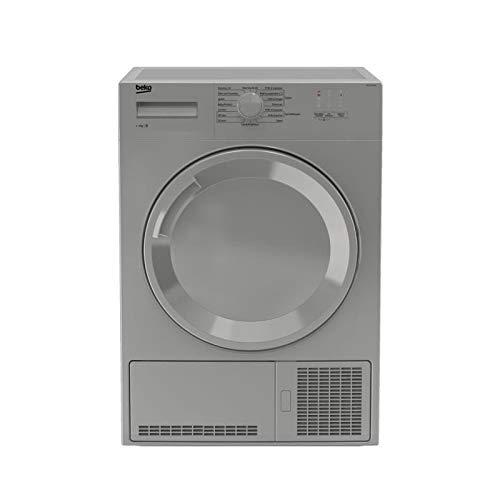 BEKO DB7111PA0S - Seche-Linge - 7 kg - Séchage Condensation - Classe B - Tambour galvanisé - Voyants - Silver