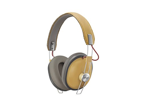 Panasonic Bluetooth Kopfhörer RP-HTX80BE-C in camel (Over-Ear, bis 24 h Akkulaufzeit, Quick Charge, 40mm Wandler, Sprachsteuerung)