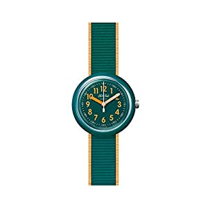 Flik Flak Jungen Analog Quarz Uhr mit Kunststoff Armband FPNP048