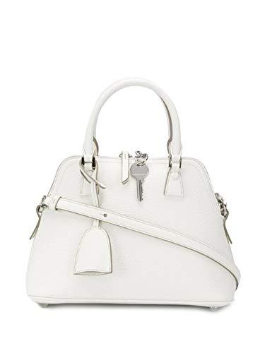 Maison Margiela Damen S56wg0082p0396h7736 Weiss Leder Handtaschen