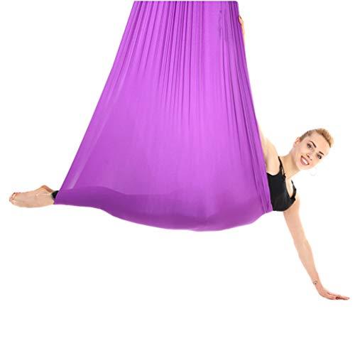 ZKOOO Yoga Hamaca Anti Gravedad Ultra Fuerte Cómodo Ejercicios Pilato Fitness Flexibilidad Núcleo Fuerza Pérdida de Peso