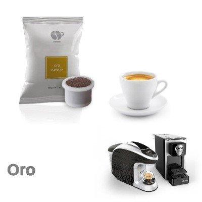 400 capsule caffè LOLLO miscela ORO compatibili Uno System - Maranello - Squesito