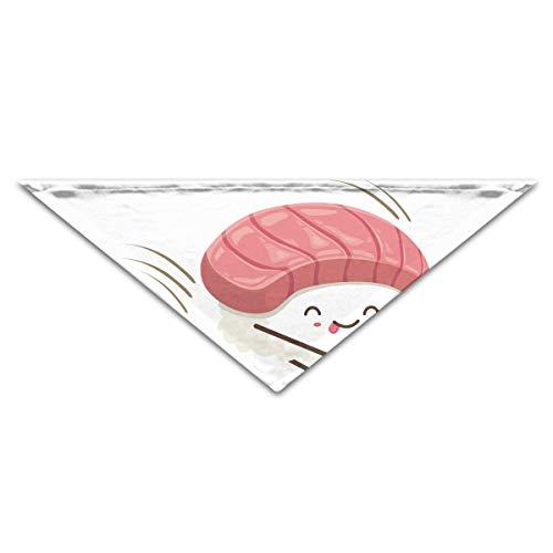 Niedliche Sushi Kostüm - Gxdchfj Hundebandana-Schal-Dreieck-Schellfisch-Sushi-Sprungs-Kopftuch,