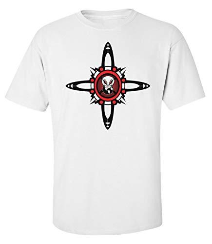Herren Evil Organization Symbol Logo T-Shirt Weiß XL