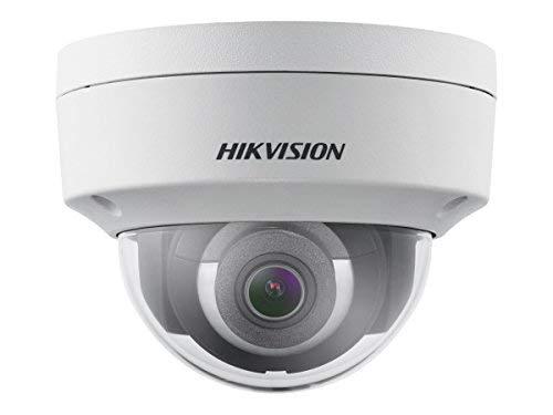 Hikvision EasyIP 2.0plus DS-2CD2143G0-IS - Netzwerk-Überwachungskamera - Kuppel - Vandalismussicher/Wetterbeständig - Farbe (Tag&Nacht) - 4 MP Audio-kuppel