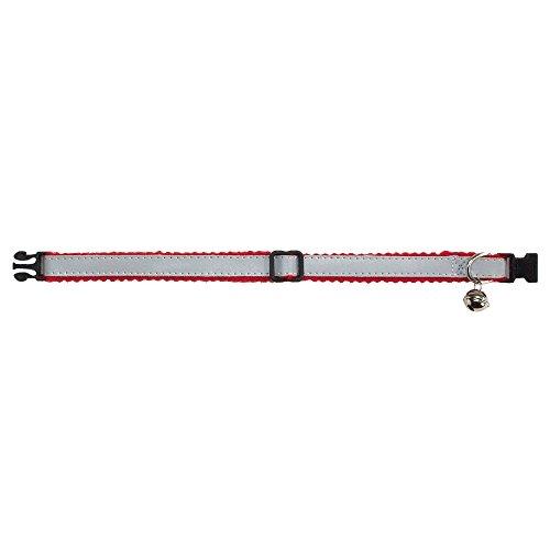 Artikelbild: BEEZTEES reflektierendes Katzenhalsband, Grau/Rot