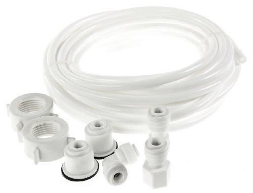 Kit de Connexion Universel avec Tuyau d'alimentation d'eau pour Réfrigérateur Électroménager Style Américain
