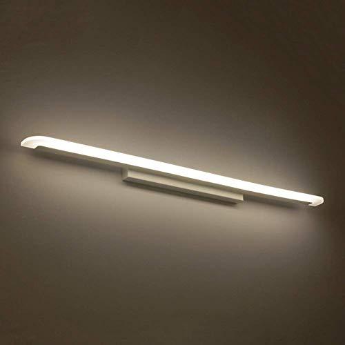 Badezimmer-eitelkeit-wand-spiegel (Oevina Modern LED 60cm Badezimmer-Eitelkeitslampe, Wand-Wandleuchte-Schlafzimmer-Badezimmer-Eitelkeits-Beleuchtungs-Befestigung Spiegel (Color : 16w, Size : Warm Light))