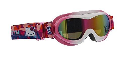 Hello Kitty-Skibrille für Kinder, Mädchen-HKMASK001 -3bis5Jahre, Mädchen, weiß, 3-5 Jahre