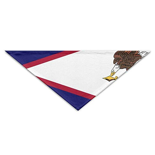 Rghkjlp Rican Samoa Flag Bandana Dreieck Halstuch Lätzchen Schals Zubehör für Hunde & Katzen (Zubehör Kostüm Australien)