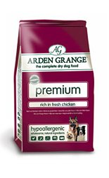Arden Grange Premium Rich in Fresh Chicken 15kg 15000g by Arden Grange