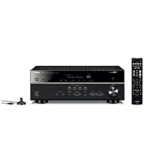 Yamaha RX-V585 - Alexa compatible MusicCast AV receiver with Wi-Fi and Bluetooth - 7.2 Dolby Atmos - Black