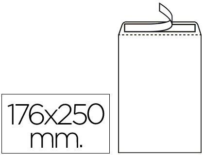 Liderpapel SB08 - Pack de 500 sobres, 176 x 250 mm