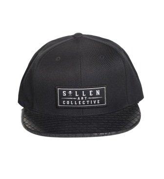 Sullen Men's Pyramids Snapback Hat Black