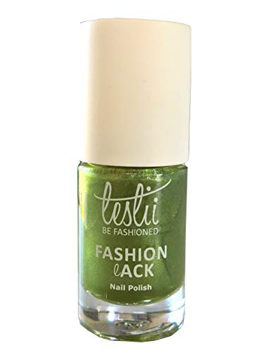 Leslii hell-grüner Qualitäts Nagellack Colour Couture Olive Grün Fashionlack Inhalt: 5ml - Couture Olive