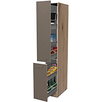 apothekerschrank 30 cm breit quarz cubanit san remo eiche. Black Bedroom Furniture Sets. Home Design Ideas