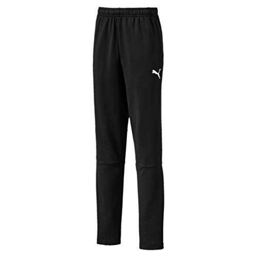 PUMA Kinder Liga Training Pants Pro Jr Jogginghose Black White, 164 -