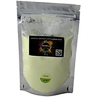 Plastico en polvo luminiscente - Capacidad - 100 grs Amarillo/Verde