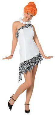Wilma Fred Feuerstein Flintstone Kostüm costume Fancy Dress Costume Karneval Halloween Small Size
