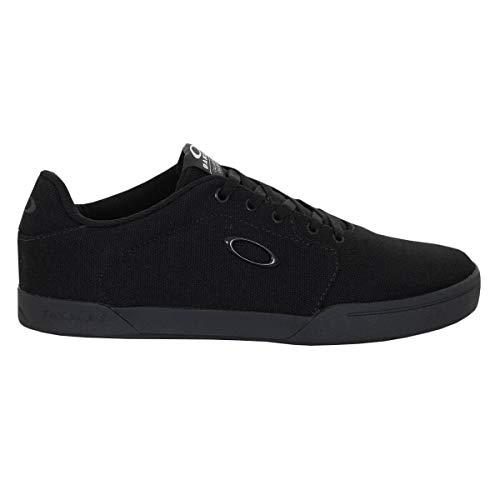 Oakley 13551-02E-8.5 Canvas Flyer Sneaker Blackout UK8.5 Sneaker