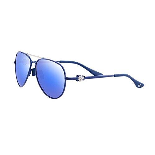 BAIYICHEN Sonnenbrillen für Damen Junge Sonnenbrille - Student Girl - Persönlichkeit, Komfort, geringes Gewicht Sonnenschutz (Farbe : A)