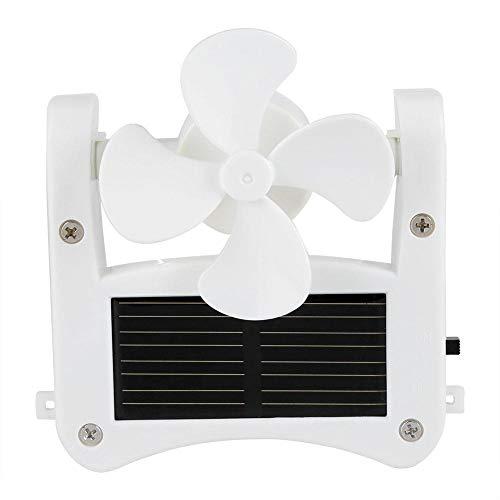 entilatoren Für Hut Sonnenenergie Ventilator Kappe Lüfter Halskette Tragbare Personal Fan Hat Clip Fan Cap Fan Zum Bergsteigen Camping Wandern ()