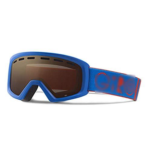 JAG Kinderskibrille Doppel-Antibeschlagbrille Einzel- und Doppelplatine Außenwinddicht...