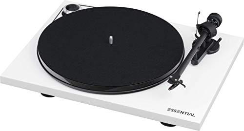 Pro-Ject Essential III Bluetooth, Weiß (Plattenspieler Project)
