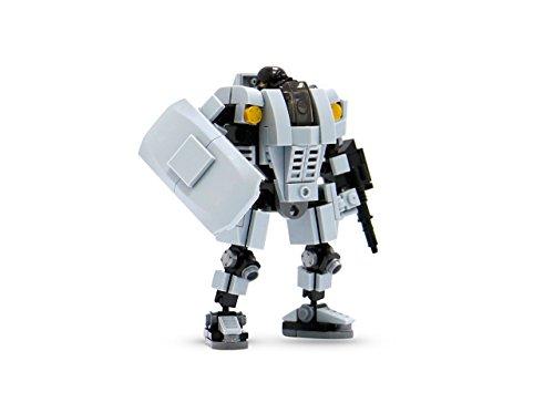 Block-Gebäude-Spielzeug-Basis Defender Bricks Fantastische Roboter (Gebäude Spielzeug)