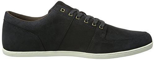 Boxfresh Herren Spencer Low-Top Black (Dk Shw/Dk BRN)
