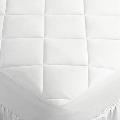 Extra Deep Quilted Mattress Protector Cover Stretch Skirt Crib Cot Toddler 70x140x15cm Fitted