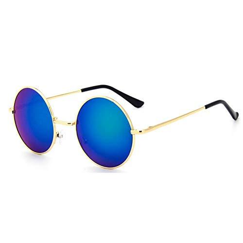 ADGJLI Nuevas Gafas De Sol Unisex Estilo Vintage John Lennon Style Round Peace Gafas para Hombres Y Mujeres Gafas Redondas