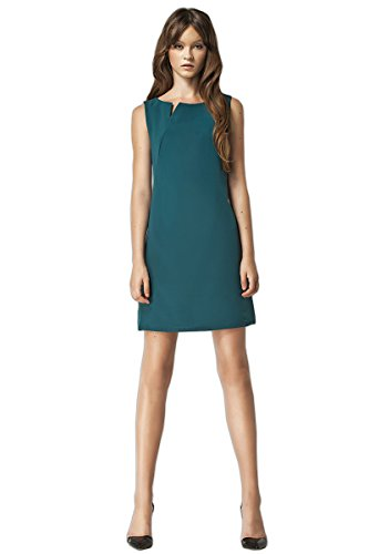 Nife SIMPLE ET SUPER robe élégante , beige Vert