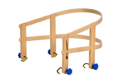 Preisvergleich Produktbild Colint  Schlittenlehne für DAVOS/Hörnerschlitten / Faltschlitten Schlitten TÜV/GS geprüft Holz Holzlehne Lehne Rodel Schlitten SLT 10015