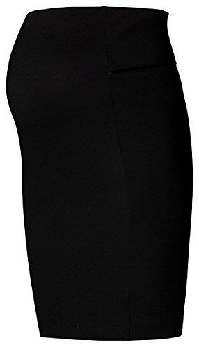 noppies Jupe Katie avec Comfort coloré Jupe crayon arrière Fente Femmes vêtements de maternité 30785 Noir (noir)