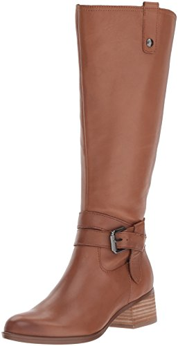 Naturalizer Women's Dev Wc Riding Boot, Saddle, 8.5 2W US - Naturalizer Wide Calf Boots