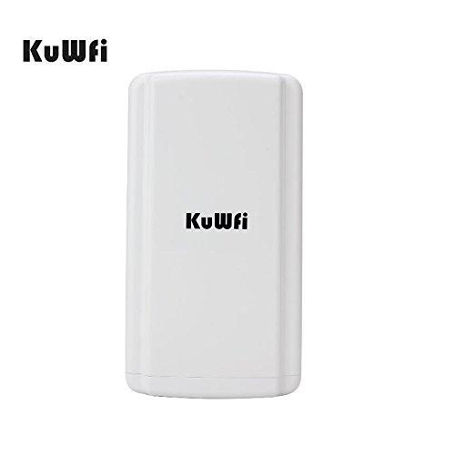kuwfi 150Mbps Wasserdicht Wireless Outdoor CPE Super WDS Drahtlose Brücke 1KM Wireless Abstand WiFi Router Outdoor CPE WIFI ausziehbar Monitor Project Partner