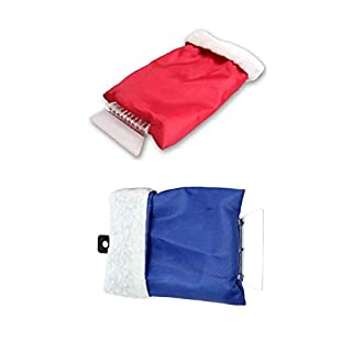 Lucky-all star 2 PCS Car Snow Shovel, Car Snow Scraper Removal Glove Handheld Clean Tool Ice Scraper for Auto Window Winter Goods