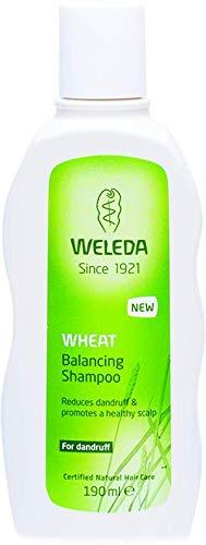 Pflege-schuppen-shampoo (WELEDA Weizen Schuppen-Shampoo, Naturkosmetik Shampoo für die Pflege der Kopfhaut und zur Entfernung von Schuppen, Anti-Schuppen Pflegeshampoo mit Vitamin E (1 x 190 ml))