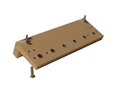 Bohrlehre Holz für System 32 Lochreihen Bohrschablone