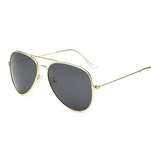 Occhiali da sole sportivi, occhiali da sole vintage, pilot sunglasses women/men classic polarized aviation sun glasses brand real high quality limited version eyewear 3025 gold grey