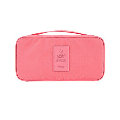 JUNLONG - Portatrajes de viaje , rosa (Rosa) - IG5-StorageBag02-Pink