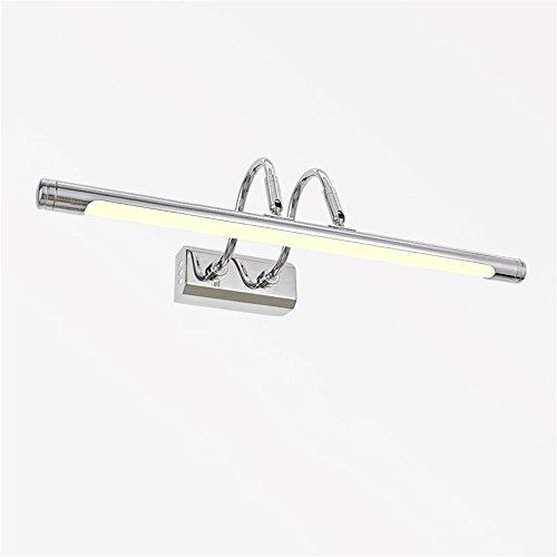 6 Vanity Bar Licht (SKC LIGHTING LED Wandleuchten Badezimmer Schlafzimmer Restaurant Wohnzimmer Gang Gang Korridor Bar Wandleuchten Spiegel Frontleuchten Lampe ( Farbe : Warmes weißes Licht-6W 47cm ))