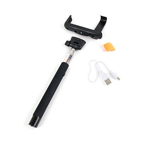 DURAGADGET Bluetooth-Fotostick als Teleskop-Monopod zum Erstellen von Selfi-Bildern für Bestore A8 | A9 | X8 | Z8 und KV-MXCS-ZL3S Toughgear Outdoor-Smartphones