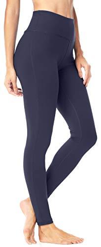 QUEENIEKE Damen Power Flex Yoga Hosen Training Laufende Leggings Farbe Königsblau Größe L(12 -