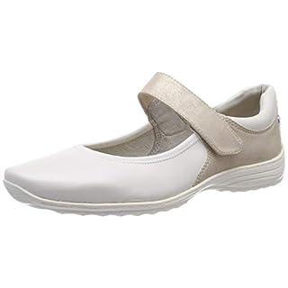 Tamaris Damen 1-1-24601-22 132 Slipper, Weiß (WHITE/BEIGE 132)), 41 EU