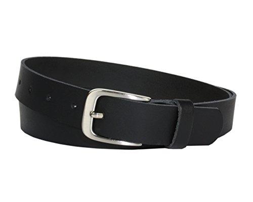 Ledergürtel 100 % echt Leder, Jeansgürtel, 3 cm breit und ca. 0.25 cm stark, Gürtel, Made in Germany, Anzugsgürtel, Hüftgürtel, Vascavi