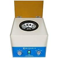 WooBrit Centrífuga Eléctrica de Laboratorio, CE Certificación Centrifugadora de Laboratorio con Temporizador y Ajustable de Velocidad, Mini Centrifugación de Sangre 220V 40W, Baja Velocidad 4000rpm