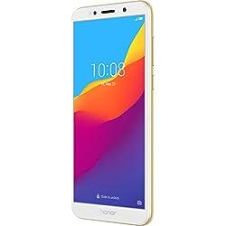 """Honor 7S Smartphone (13.84cm (5.45"""" rahmenloses HD + Display, Mémoire Interne DE 16Go et 2Go de RAM-13MP et 5MP Caméra Avant, Dual SIM, Android 8.1)"""